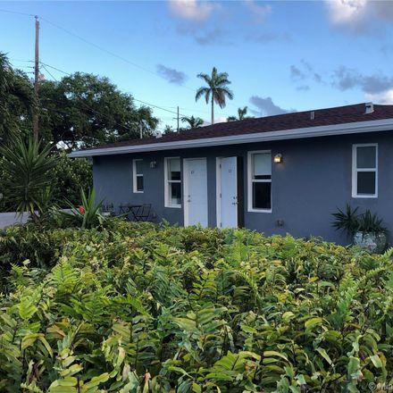 Rent this 1 bed duplex on Northwest 88th Street in El Portal, FL 33150