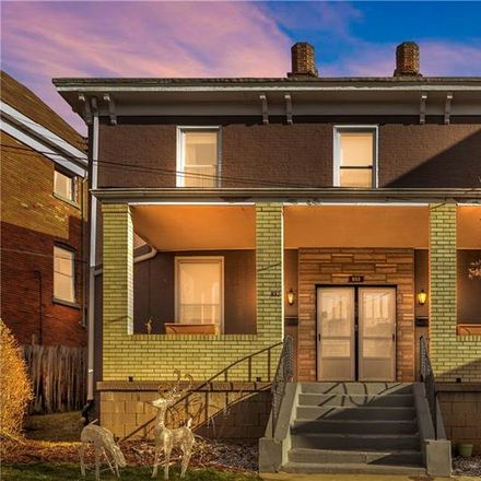 Rent this 4 bed house on 832 Farragut Street in Pittsburgh, PA 15206