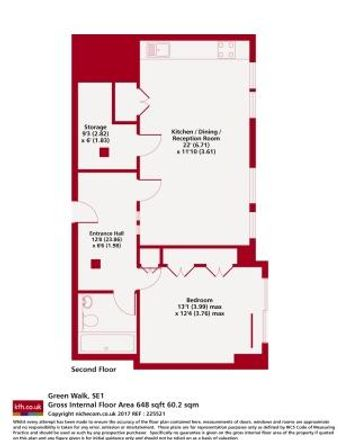 Rent this 1 bed apartment on Block C in 27 Alice Street, London SE17