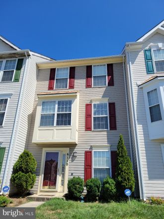 Rent this 4 bed townhouse on 6110 Rose Bay Drive in District Heights, Prince George's County