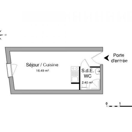 Rent this 1 bed apartment on Place Napoléon in 85000 La Roche-sur-Yon, France