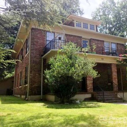 Rent this 2 bed apartment on 2 Clark Place in Memphis, TN 38104