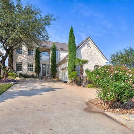 Rent this 4 bed house on 12 Camwood Trail in The Hills, TX 78738