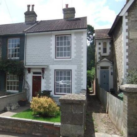 Rent this 3 bed house on Upper Fant Road in Maidstone, ME16 8BU