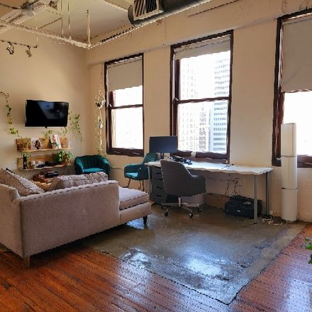 Rent this 1 bed apartment on Wilson Building in North Ervay Street, Dallas