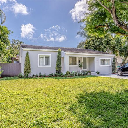 Rent this 3 bed house on 4310 Southwest 15th Street in Coral Gables, FL 33134