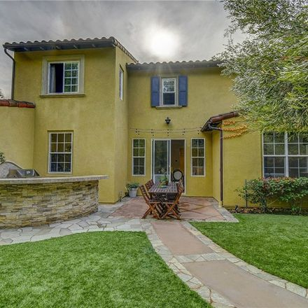 Rent this 4 bed townhouse on 111 Canyoncrest in Irvine, CA 92603