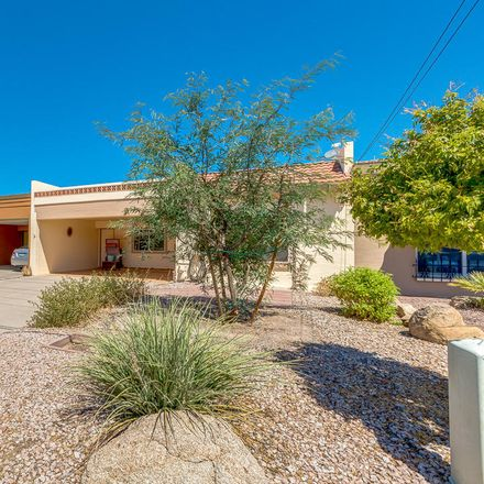 Rent this 2 bed townhouse on 7656 East Chaparral Road in Scottsdale, AZ 85250