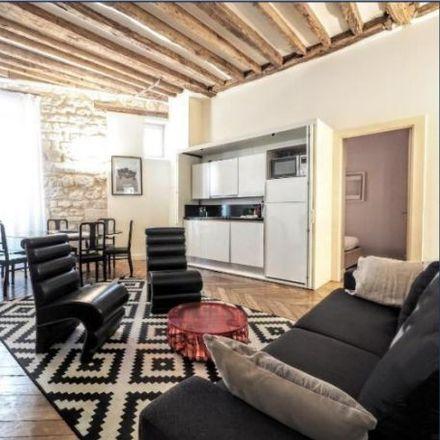 Rent this 3 bed apartment on 59 Rue Saint-André des Arts in 75006 Paris, France