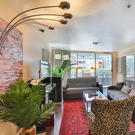 Rent this 2 bed condo on Promenade West in 880 West 1st Street, Los Angeles