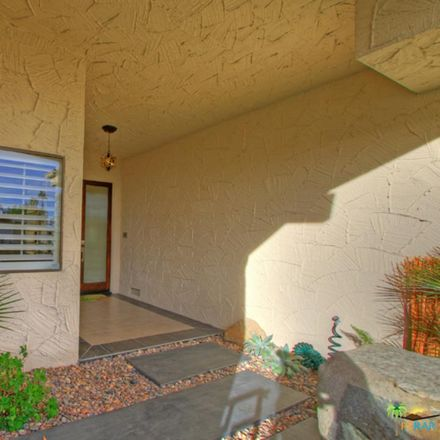 Rent this 2 bed condo on E Madrona Dr in Palm Springs, CA