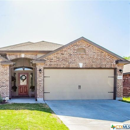 Rent this 4 bed house on 6223 Ambrose Circle in Temple, TX 76502