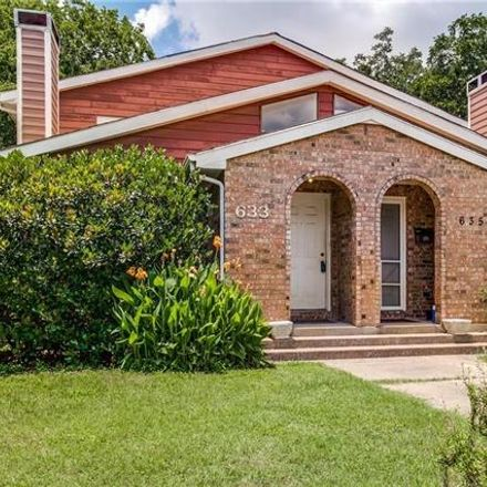 Rent this 2 bed duplex on 633 Haines Avenue in Dallas, TX 75208