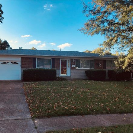 Rent this 3 bed house on Hammes Drive in Florissant, MO 63031
