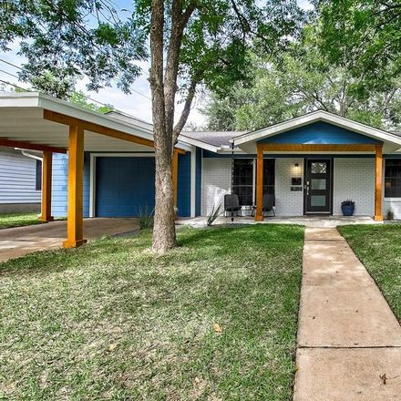 Rent this 3 bed house on 1910 Redlands Street in Austin, TX 78757