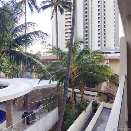 Rent this 1 bed condo on Ala Wailani in 2609 Ala Wai Boulevard, Honolulu
