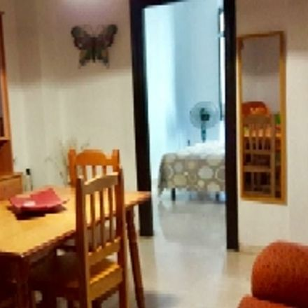 Rent this 1 bed room on Biblioteca Social Libre Albedrío in Calle Rejas de la Virgen, 18005 Granada