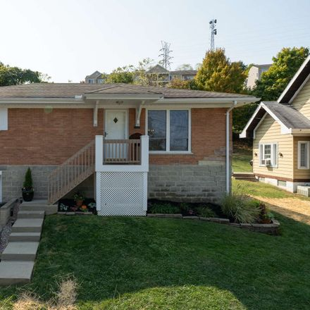 Rent this 2 bed house on 407 Hazen Street in Ludlow, KY 41016