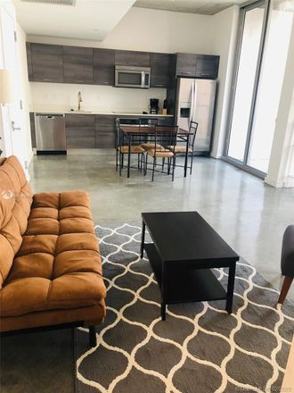 Rent this 1 bed apartment on SE 1st St in Miami, FL