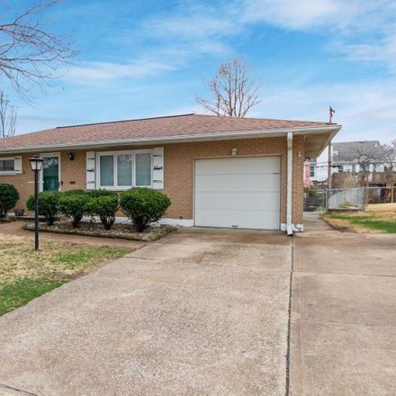 Rent this 3 bed house on 9842 Lindhall Lane in Affton, MO 63123