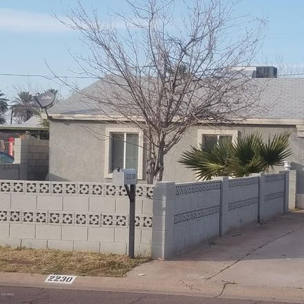 Rent this 3 bed house on 2230 East Harvard Street in Phoenix, AZ 85006