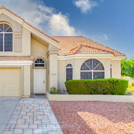 Rent this 3 bed house on 1006 South Tiago Drive in Gilbert, AZ 85233