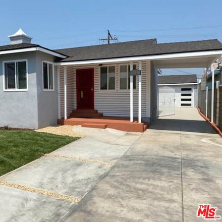 Rent this 3 bed house on 1111 West 83rd Street in Los Angeles, CA 90044
