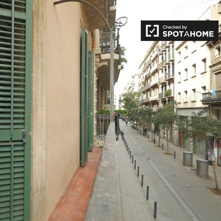 Rent this 1 bed apartment on Carrer de la Seca in CP 08003 Barcelona, Spain