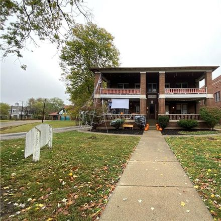 Rent this 2 bed house on 1335 Central Avenue in Indianapolis, IN 46202