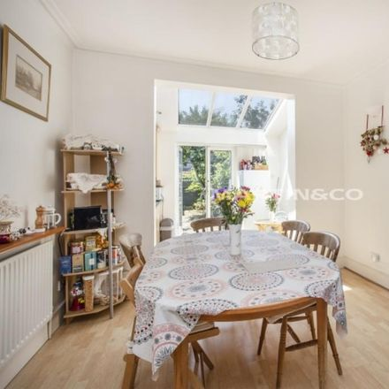 Rent this 3 bed house on Clarence Road in London SW19 8QD, United Kingdom