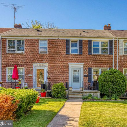 Rent this 3 bed townhouse on 5524 Frederick Avenue in Baltimore, MD 21228