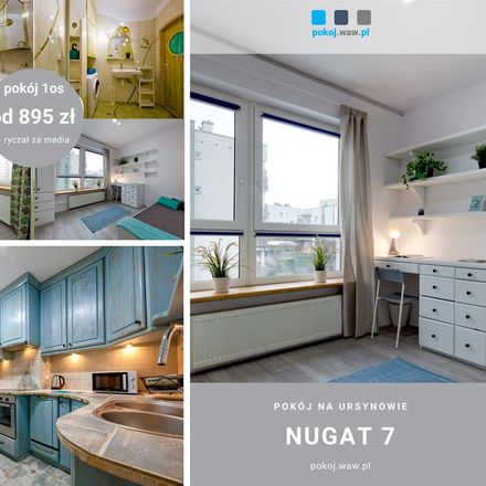 Rent this 1 bed room on Nugat 7 in 02-776 Warsaw, Poland