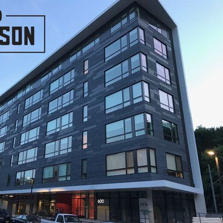 Rent this 2 bed apartment on 600 Harrison Street in Hoboken, NJ 07030