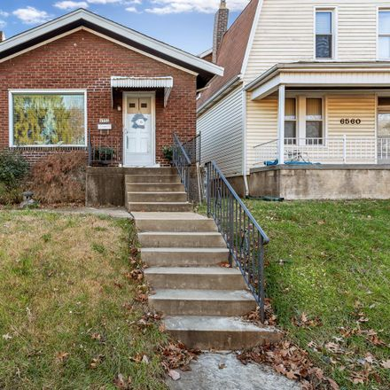 Rent this 2 bed house on 6556 Smiley Avenue in St. Louis, MO 63139