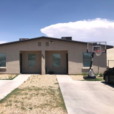 Rent this 3 bed apartment on 220 Cargill Street in El Paso, TX 79905