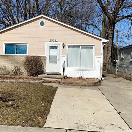 Rent this 3 bed house on 20232 Annapolis Street in Dearborn Heights, MI 48125