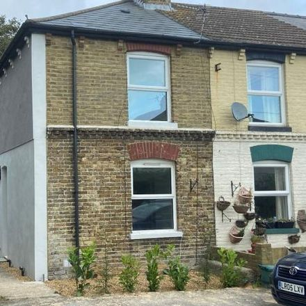 Rent this 2 bed house on Chamberlain Road in Northbourne Avenue, Dover