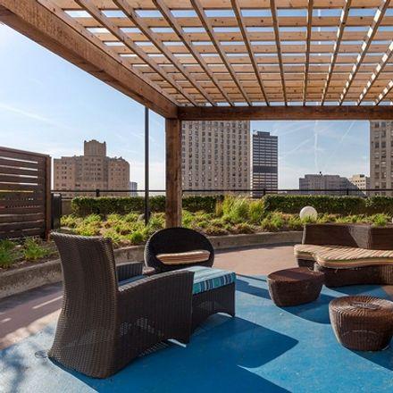 Rent this 2 bed apartment on Bam Bamz! in Washington Boulevard, Detroit