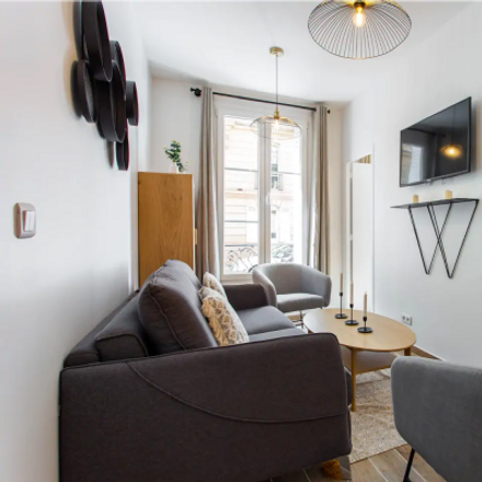 Rent this 2 bed apartment on 16 Rue Moncey in 75009 Paris, France