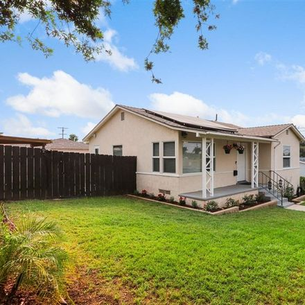 Rent this 3 bed house on 73rd Street in La Mesa, CA 91942