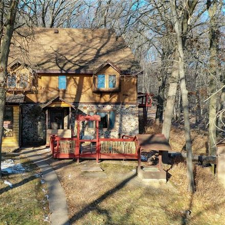 Rent this 3 bed house on 13155 Wildwood Ln in Fairchild, WI