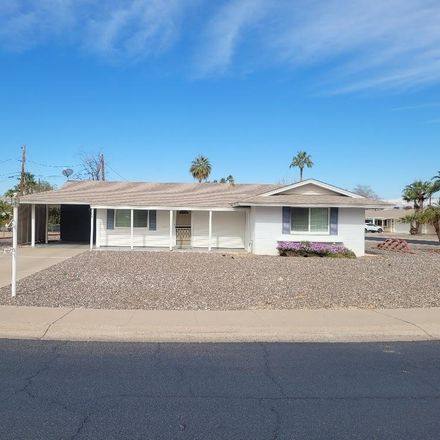 Rent this 2 bed house on 12001 N Pebble Beach Dr in Sun City, AZ