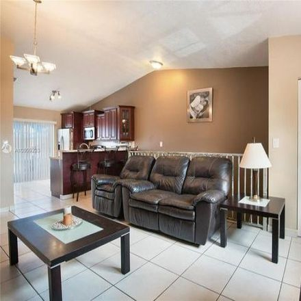 Rent this 3 bed condo on West 33rd Lane in Hialeah, FL 33018-2148