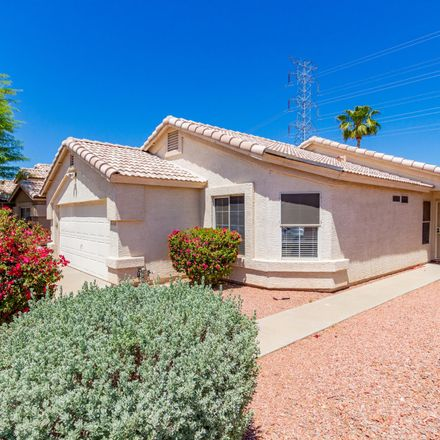 Rent this 4 bed house on W Saguaro Park Ln in Glendale, AZ