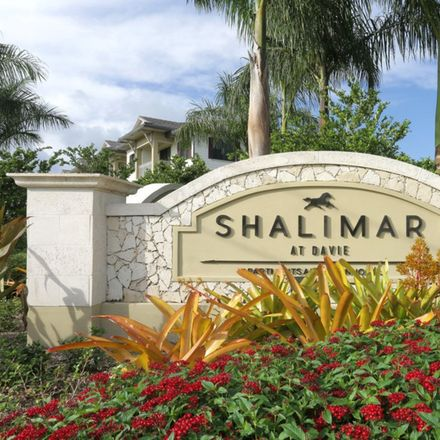 Rent this 2 bed apartment on 4297 Southwest 87th Terrace in Davie, FL 33328