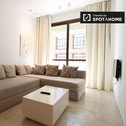 Rent this 1 bed apartment on Paseo del Prado in 12, 28001 Madrid