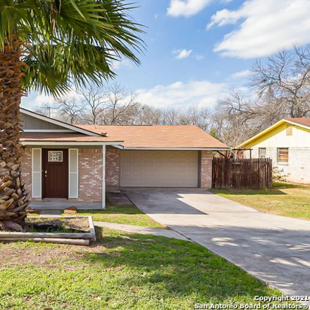 Rent this 3 bed house on 10603 Mount Boracho Drive in San Antonio, TX 78213