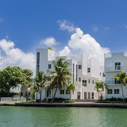 Rent this 4 bed townhouse on 1975 Calais Drive in Miami Beach, FL 33141