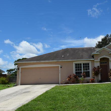 Rent this 3 bed apartment on Crestline Ln NE in Palm Bay, FL