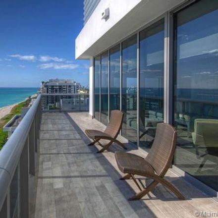 Rent this 4 bed condo on Collins Avenue in Miami Beach, FL 33140